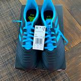 Adidas Shoes | Adidas Predator Youth Indoor Soccer Shoes | Color: Black/Blue | Size: 6 Youth