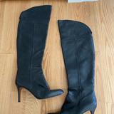 Coach Shoes   Coach Over The Knee Stiletto Boots   Color: Black   Size: 8.5