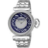 Silver Dial Stainless Steel Watch - Metallic - Roberto Cavalli Watches