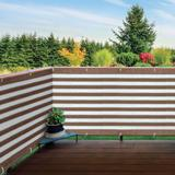 Deck/Fence Privacy Screen by BrylaneHome in Brown