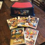 Disney Other   Disney Bundle - Mickey Mouse Step Stool And 5 Dvds   Color: Blue/Red   Size: Osb