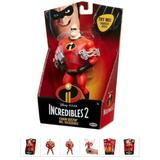 Disney Toys   New The Incredibles 2 Movie, Mr Incredible Action   Color: Red   Size: New