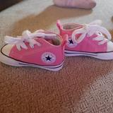 Converse Shoes   Baby Converse Crib Shoes   Color: Pink   Size: 1bb
