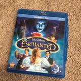 Disney Other | Enchanted [Blu-Ray + Dvd] | Color: black | Size: Enchanted [Blu-Ray + Dvd]