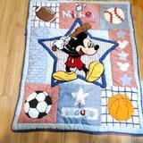 Disney Other   Disney Baby Mickey Crib Throw Blanket   Color: Blue   Size: Osbb