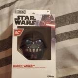 Disney Accessories   New Star Wars Darth Vader Bitty Boomers Bluetooth   Color: Black   Size: Osb