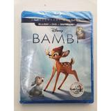 Disney Other | Disney'S Bambi Blu-Ray, Dvd & Digital Code | Color: White/Silver | Size: Os