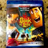 Disney Other   New In Package Book Of Life Blu Ray, Dvd &Dig Code   Color: black   Size: Na