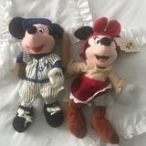 Disney Other   Minnie & Mickey Stuffed Toys   Color: Black/Red   Size: Os