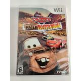 Disney Games | Cars Mater National Championship For Wii | Color: Red | Size: Os