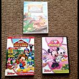 Disney Other   Bundle Lot Of 3 Disney Minnie Mickey Dvd'S   Color: black   Size: Osg