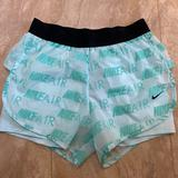 Nike Shorts   Nike Womens Athletic Shorts   Color: Blue/Green   Size: S