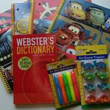 Disney Office | Dictionary & Notebook Kit | Color: Red/Yellow | Size: Os