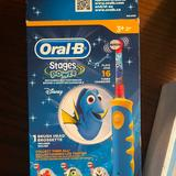 Disney Bath, Skin & Hair | Childrens Oral B Electric Toothbrush | Color: Blue/Yellow | Size: Os