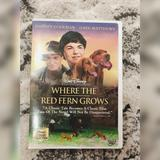 Disney Other | Disneys Where The Red Fern Grows Dvd | Color: Red | Size: Dvd