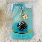 Kate Spade Accessories | Kate Spade Selfie Phone Remote Keychain New In Box | Color: Black/White | Size: Os