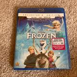 Disney Other | Frozen Collectors Edition Blue-Ray Dvd - New | Color: Blue | Size: Os