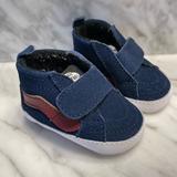Vans Shoes | Infant Baby Vans Crib Shoes | Color: Blue/Red | Size: 1bb