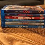Disney Other   Disney Dvdblue-Ray Lot Of 6   Color: Blue   Size: One Size