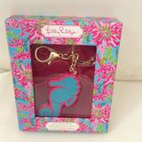 Lilly Pulitzer Office | Lilly Pulitzer Seahorse 4gb Usb Flash Drive | Color: Blue/Pink | Size: 4gb Usb Flash Drive