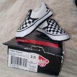 Vans Shoes | Baby Vans Crib Shoes | Color: Black/White | Size: 2bb