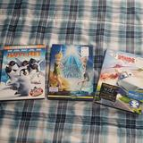 Disney Other   Kids Children'S 3 Dvd Lot Disney Wings Happy Feet   Color: Blue/Green   Size: Os