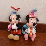 Disney Other   Disney Mickey And Minnie Birthday Plush Toy Set   Color: black   Size: Os