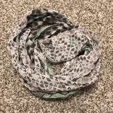 American Eagle Outfitters Accessories | Ae Infinity Scarf *Final Markdown Unless Bundled* | Color: Gray/Green | Size: Os