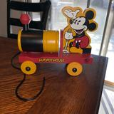 Disney Other   Mickey Mouse Toy Pull Train   Color: black   Size: Os