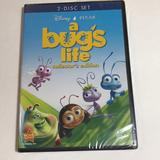 Disney Other | Disney A Bugs Life 2 Disc Dvd | Color: White/Silver | Size: Os