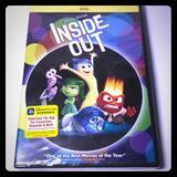 Disney Other | Disneys Inside Out Dvd | Color: Cream/Black | Size: Os