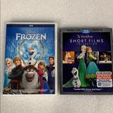 Disney Other | Disney Frozen Dvd & Short Films Collection Blu-Ray | Color: black | Size: Os