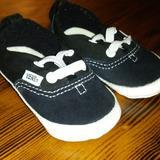 Vans Shoes | Baby Vans Crib Shoes Size 3 | Color: Black | Size: 3bb