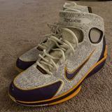 Nike Shoes   Nike Huarache 2k4 Kobe Laser   Color: Gold/Purple   Size: 11