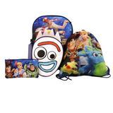 Disney Accessories | Disneypixar'S Toy Story 4 5-Pc Backpack Set | Color: Blue/White | Size: 16h X 12w X 5d