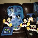 Disney Bedding | Baby Mickey Crib Bedding Set!! | Color: Blue/Green | Size: Osbb