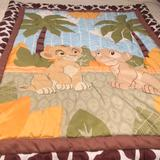 Disney Other | Lion King For Baby Boy Or Baby Girl Crib Set | Color: Tan/Cream | Size: Osb