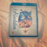Disney Other | Aladdin Dvd And Blu-Ray | Color: black | Size: Os