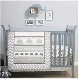 Disney Other | Crib Bedding Set | Color: Gray/White | Size: Osbb