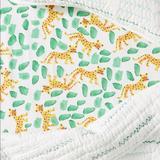 Anthropologie Bedding | Anthropologie Jaguar Crib Sheet | Color: Green/Yellow | Size: Crib Sheet