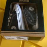 Converse Shoes   Baby Converse Crib Shoes   Color: Black/White   Size: 4bb