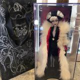 Disney Other | Disney Cruella De Vil Doll Collectible | Color: Red/White | Size: Os