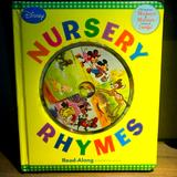Disney Toys   Disney Read-Along Storybook Cd Nursery Rhymes   Color: Blue/Yellow   Size: Osbb