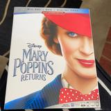 Disney Other | Mary Poppins Returns Blue-Ray + Dvd | Color: Blue/White | Size: Os