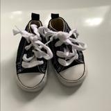 Converse Shoes   Baby Converse Crib Shoes   Color: Black   Size: 1bb