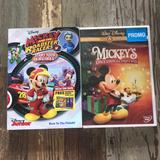 Disney Other | Mickey Mouse Dvds | Color: Black | Size: Na