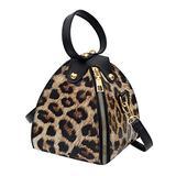 SUXING women bag tote crossbody Leopard Print shoulder handbags shoulder bag clear purse hand bags purses for women crossbody purses Leopard Printcrossbody bags Square bag