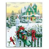 Springbok Puzzles Puzzles undefined - Holiday Mail 1,000-Piece Puzzle