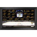 Highland Mint Pittsburgh Penguins 12'' x 20'' Facsimile Signature Rink Photo