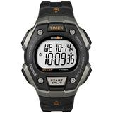 Timex Men's IRONMAN Classic 30 38mm Watch with Timex Pay – Black & Silver-Tone with Silicone Strap